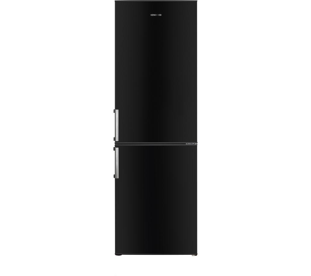 Image of Kenwood KFC60B15 Fridge Freezer - Black, Black