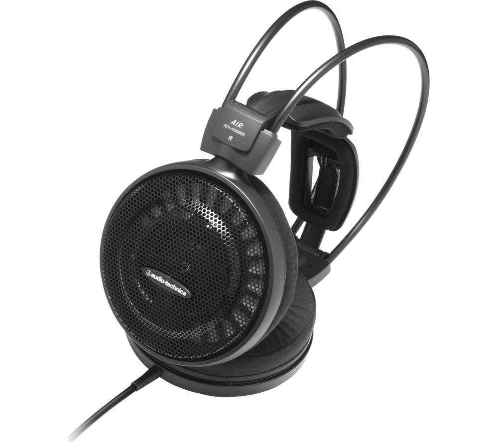 AUDIO TECHNICA Audiophile ATH-AD500X Headphones - Black