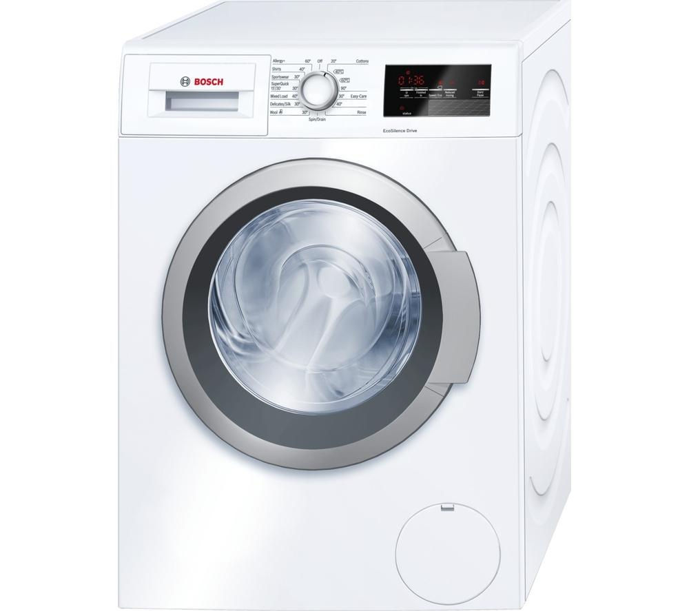 Buy BOSCH Serie 6 WAT28350GB Washing Machine - White ...