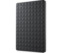 SEAGATE Expansion Portable Hard Drive - 2 TB, Black