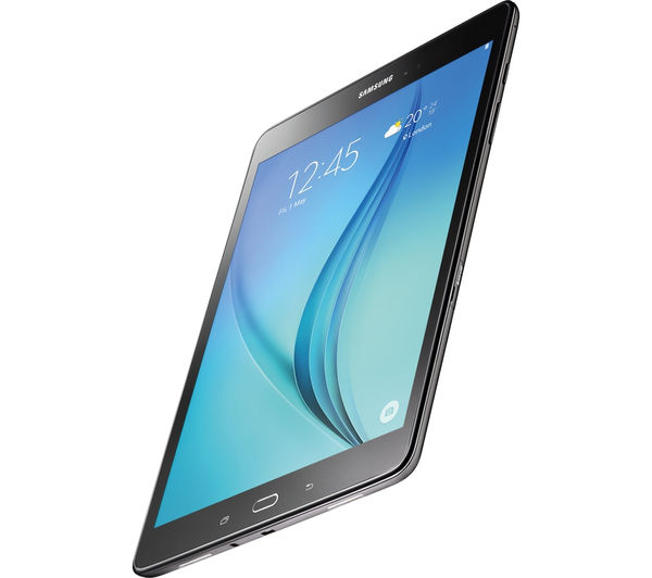 "Image of SAMSUNG Galaxy Tab A 9.7"" Tablet - 16 GB, Black"