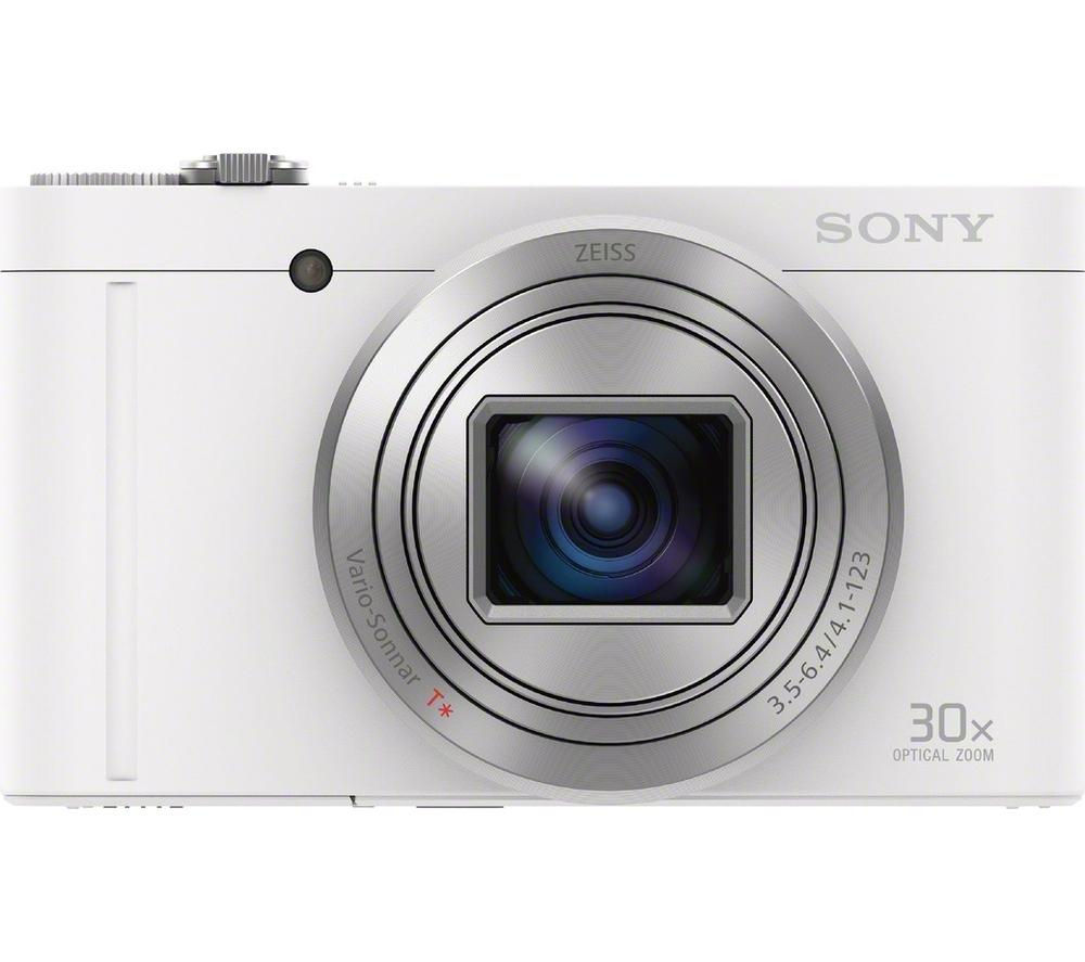 SONY Cyber-shot Cyber-shot DSC-WX500W Superzoom Compact Camera - White