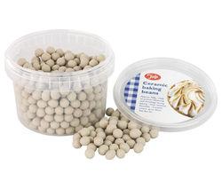 TALA Ceramic Pie Beads - Beige