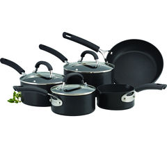 CIRCULON Origins 5-piece Non-stick Pan Set - Black
