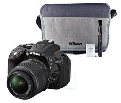 NIKON D5300 DSLR Camera with 18-55 mm f/3.5-5.6 Lens - Black