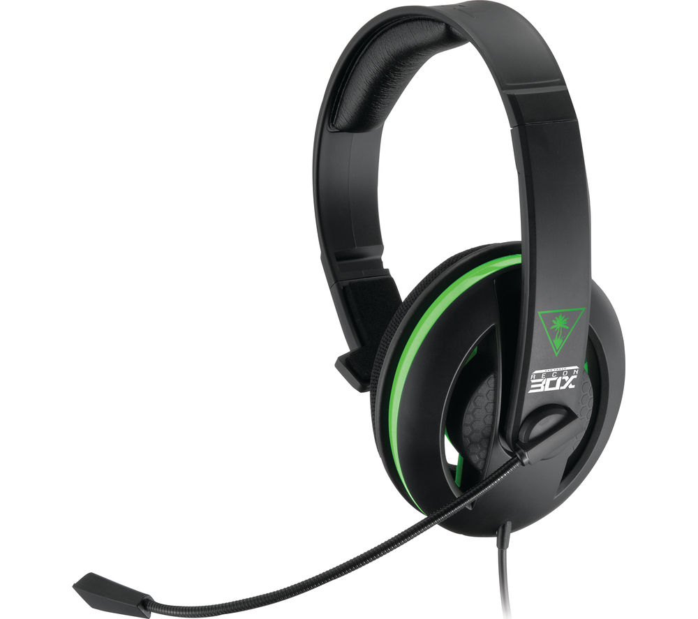 TURTLE BEACH Earforce Recon 30X 2.0 Gaming Headset - Black & Green