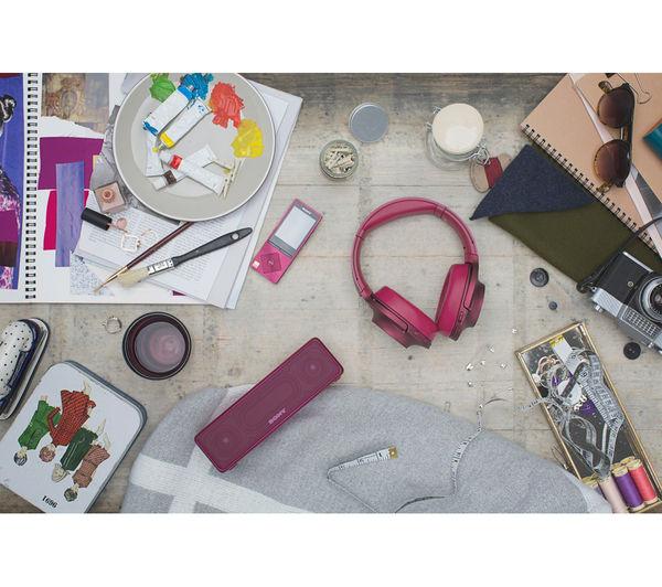 Image of SONY h.ear go SRS-HG1P Portable Wireless Smart Sound Multi-Room Speaker - Pink