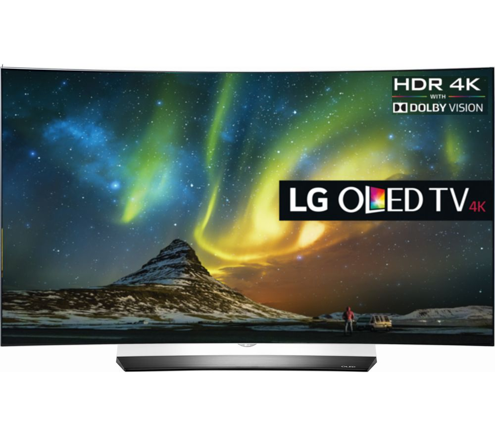 "LG OLED65C6V Smart 3D 4k Ultra HD HDR 65"" Curved OLED TV"