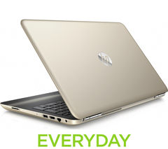 "HP Pavilion 15-au078sa 15.6"" Laptop - Gold"