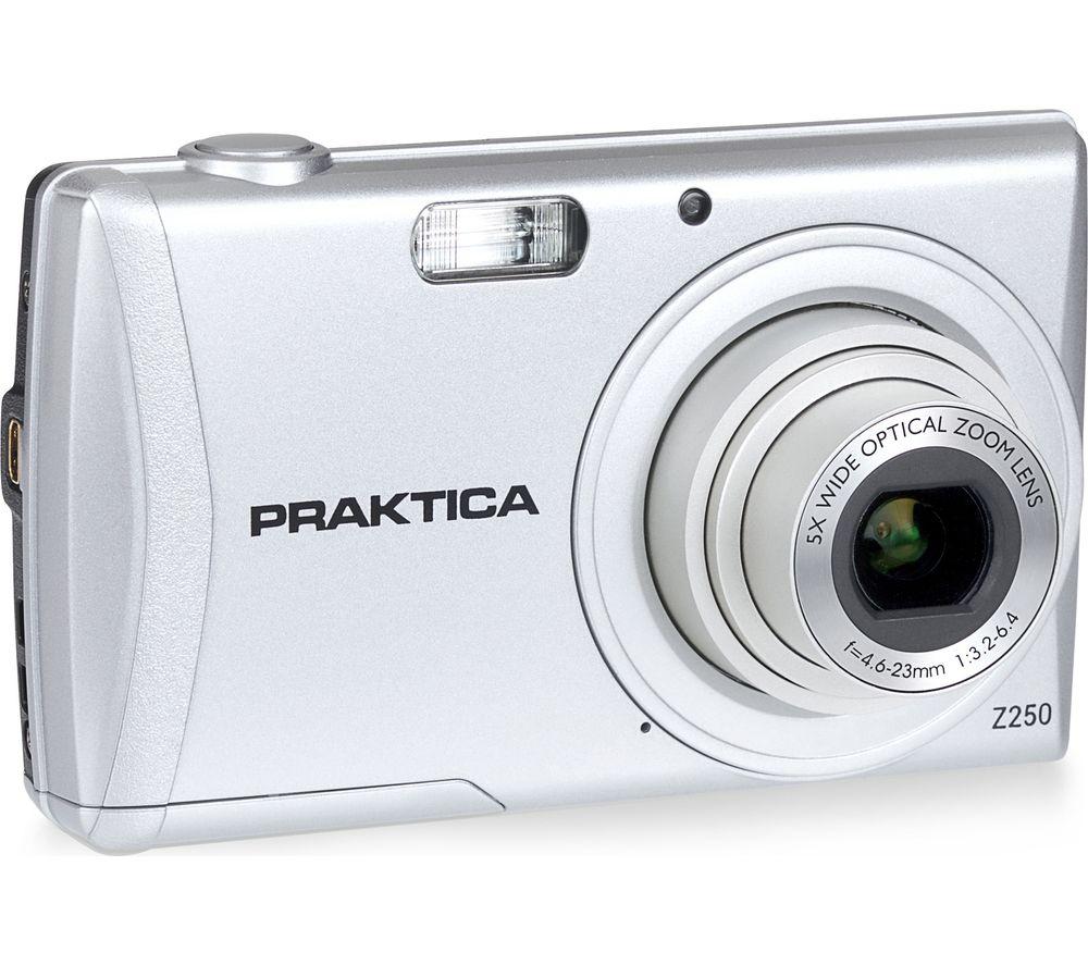Image of PRAKTICA Luxmedia Z250-S Compact Camera - Silver, Silver