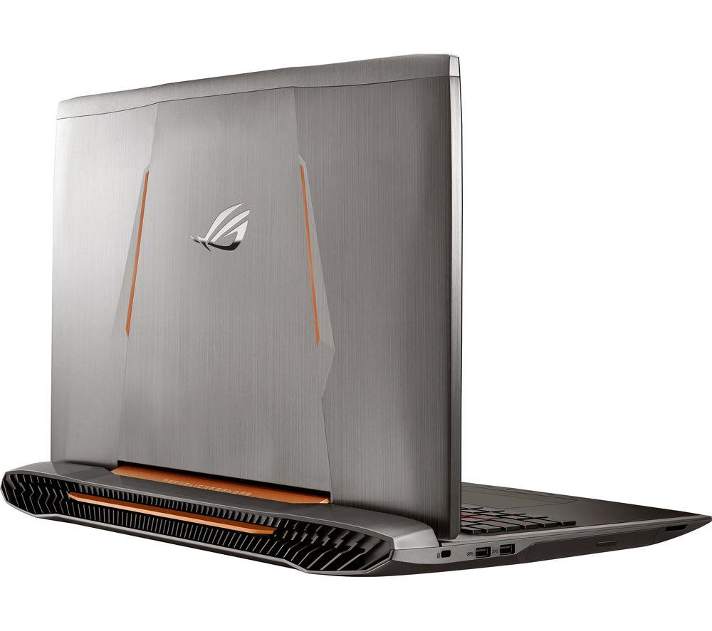 asus republic of gamers g752vm 17 3 gaming laptop grey. Black Bedroom Furniture Sets. Home Design Ideas
