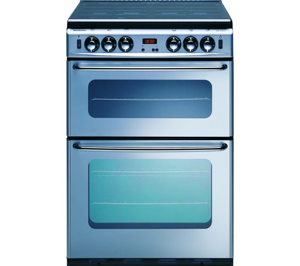 NEW WORLD 600TSIDOM Gas Cooker - Silver