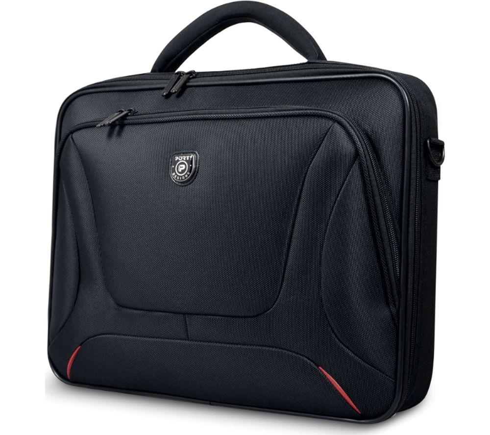 """PORT DESIGNS Courchevel 15.6"""" Laptop Clamshell Case - Black"""