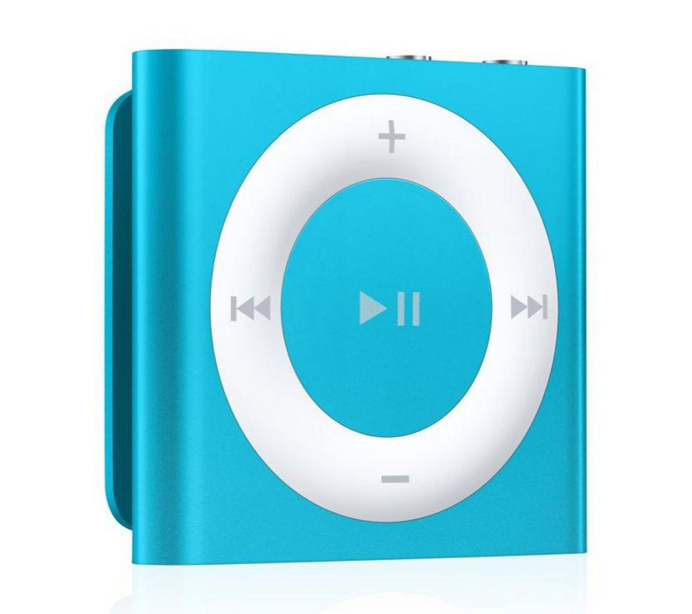 buy apple ipod shuffle 2 gb 4th generation blue free. Black Bedroom Furniture Sets. Home Design Ideas