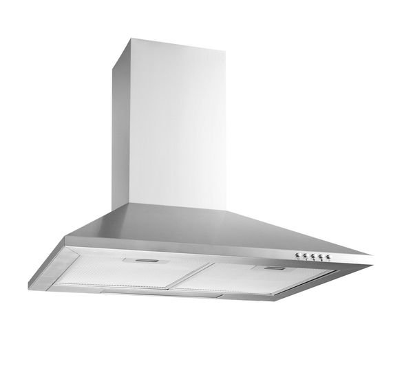 LOGIK L60CHDX13 Chimney Cooker Hood - Stainless Steel