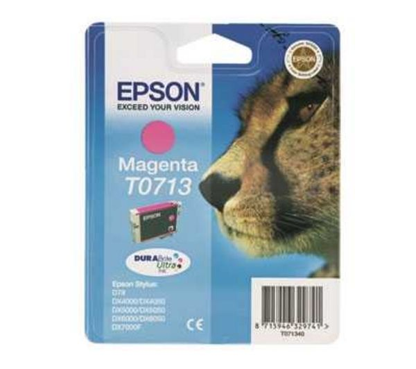 EPSON Cheetah T0713 Magenta Ink Cartridge