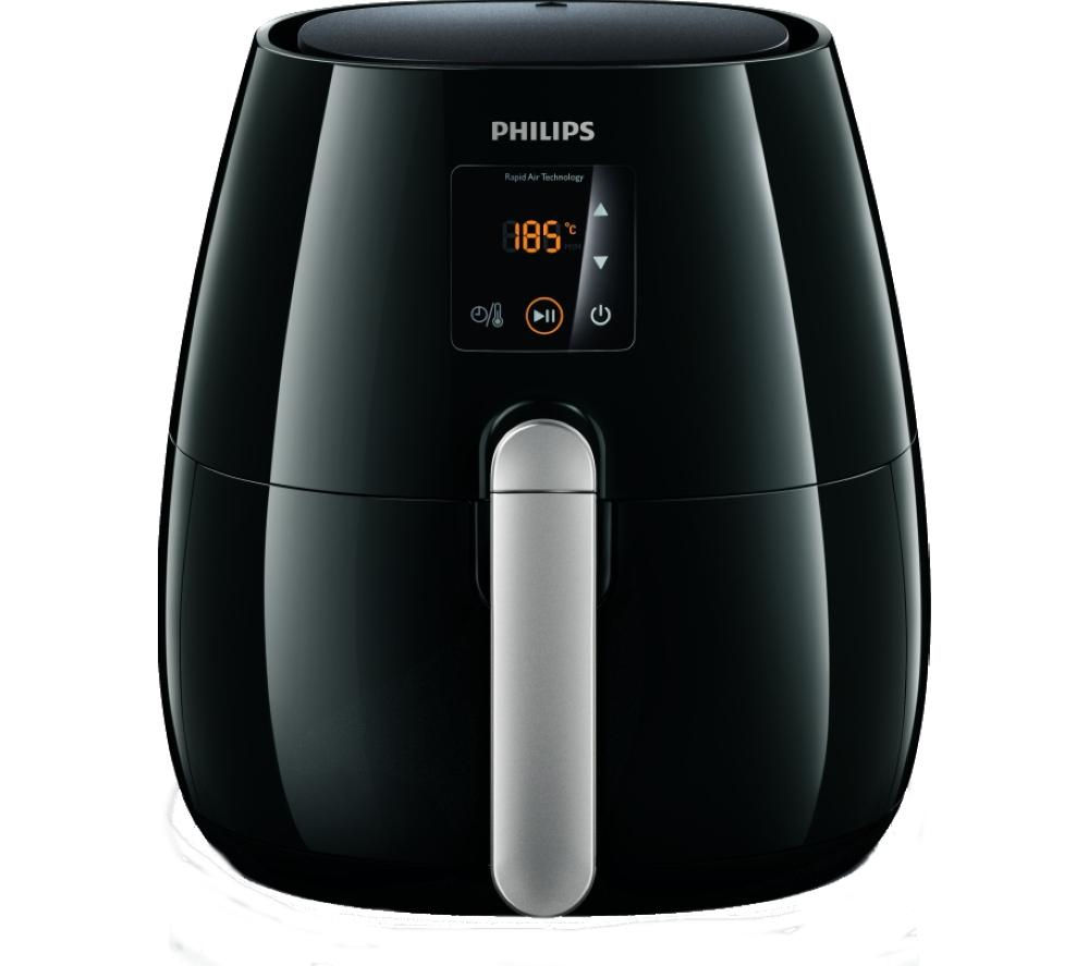 Currys Small Kitchen Appliances Buy Philips Hd9230 20 Viva Airfryer Ink Black Free Delivery