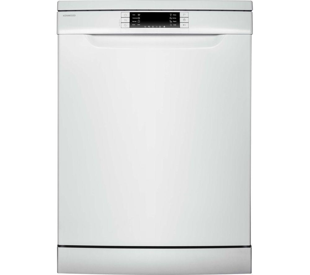 KENWOOD  KDW60W15 Fullsize Dishwasher  White White