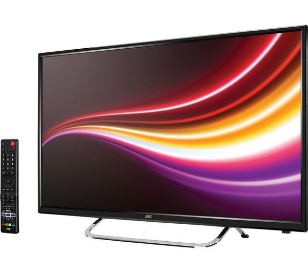 buy jvc lt 55c550 55 led tv free delivery currys. Black Bedroom Furniture Sets. Home Design Ideas