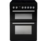 INDESIT DD60C2CK 60 cm Electric Ceramic Cooker - Black