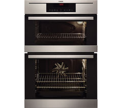 AEG DC7013021M Electric Double Oven - Stainless Steel