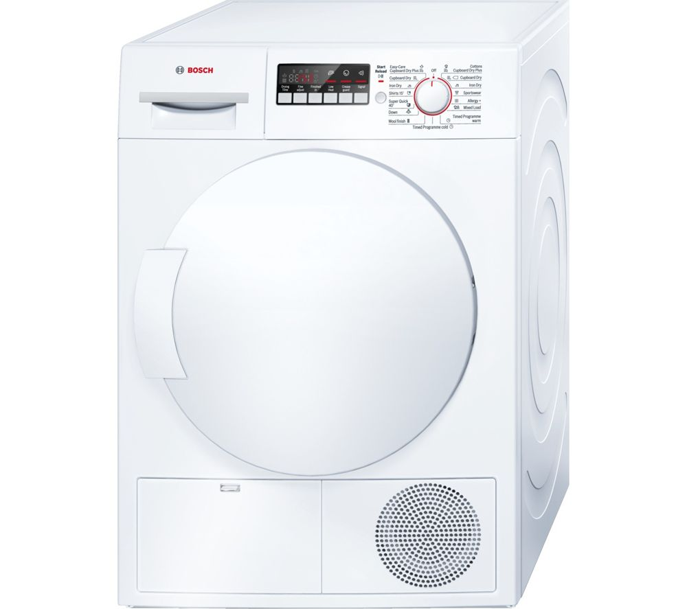 BOSCH WTB84200GB Condenser Tumble Dryer - White