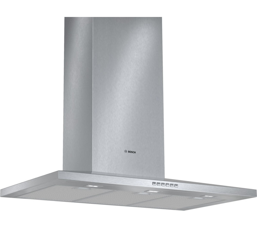 buy bosch dww097a50b chimney cooker hood stainless steel free delivery currys. Black Bedroom Furniture Sets. Home Design Ideas
