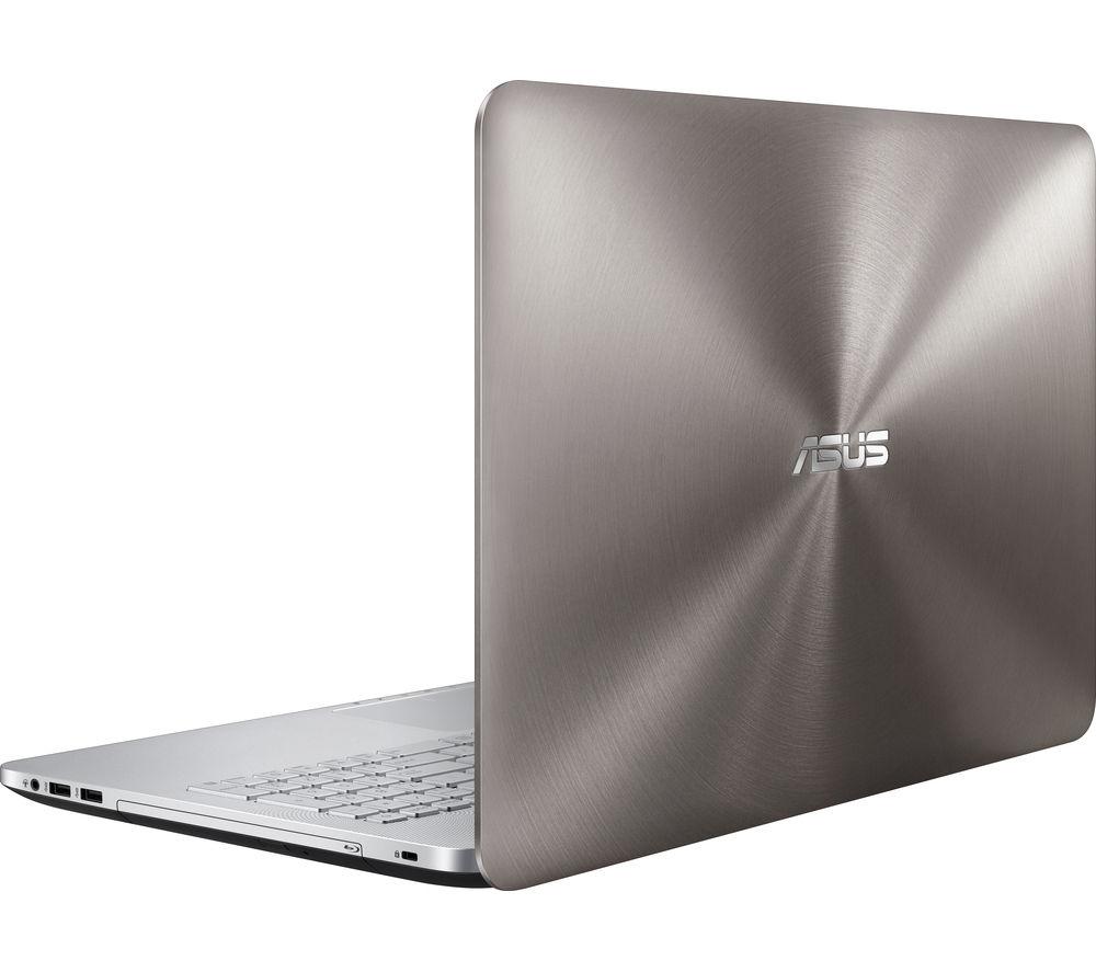 asus n552vw 15 6 4k laptop silver deals pc world. Black Bedroom Furniture Sets. Home Design Ideas