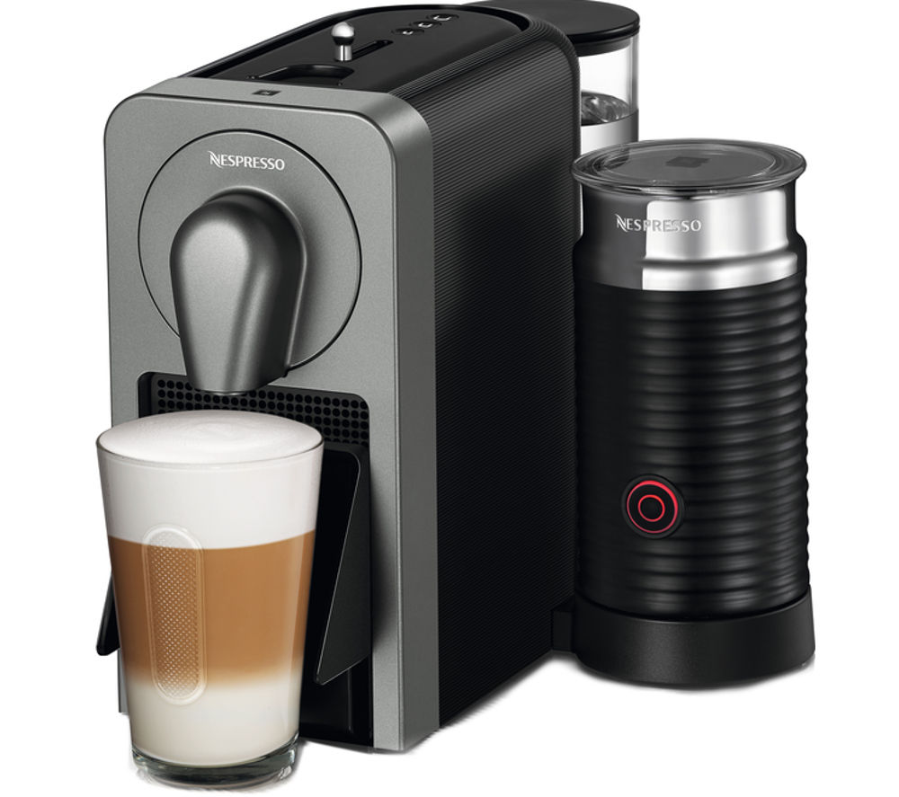 NESPRESSO  By Krups Prodigio XN411T40 Smart Coffee Machine  Black Black