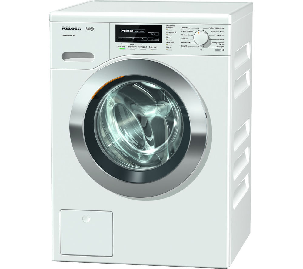 MIELE  WKF121 Washing Machine  White White