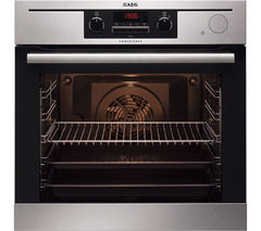 AEG BP501423WM Electric Oven - Stainless Steel