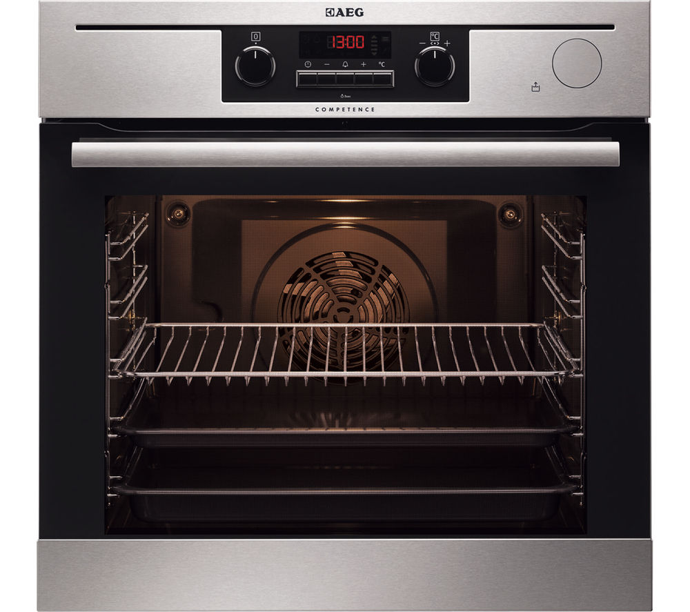 AEG  BP501423WM Electric Oven  Stainless Steel Stainless Steel