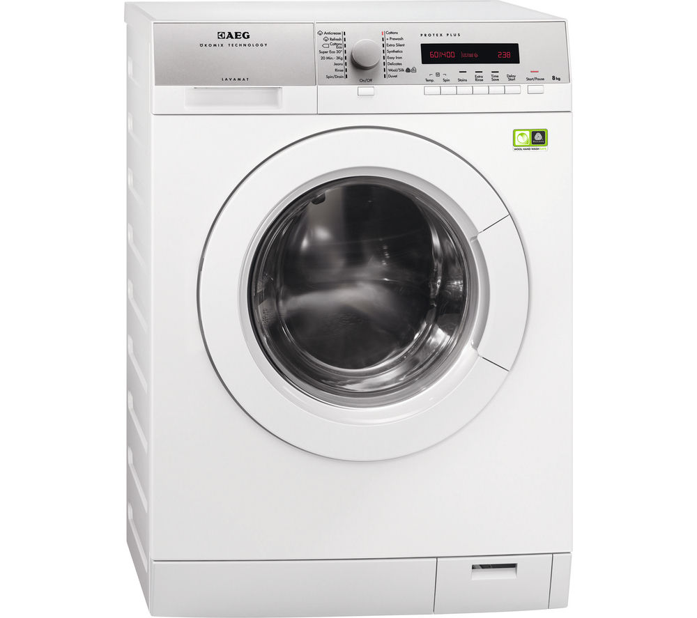 AEG  L79485FL Washing Machine  White White