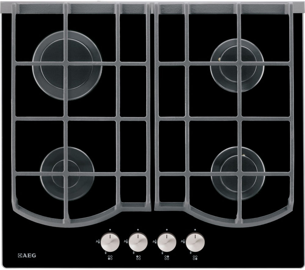 AEG  HG653430NB Gas Hob  Black Black