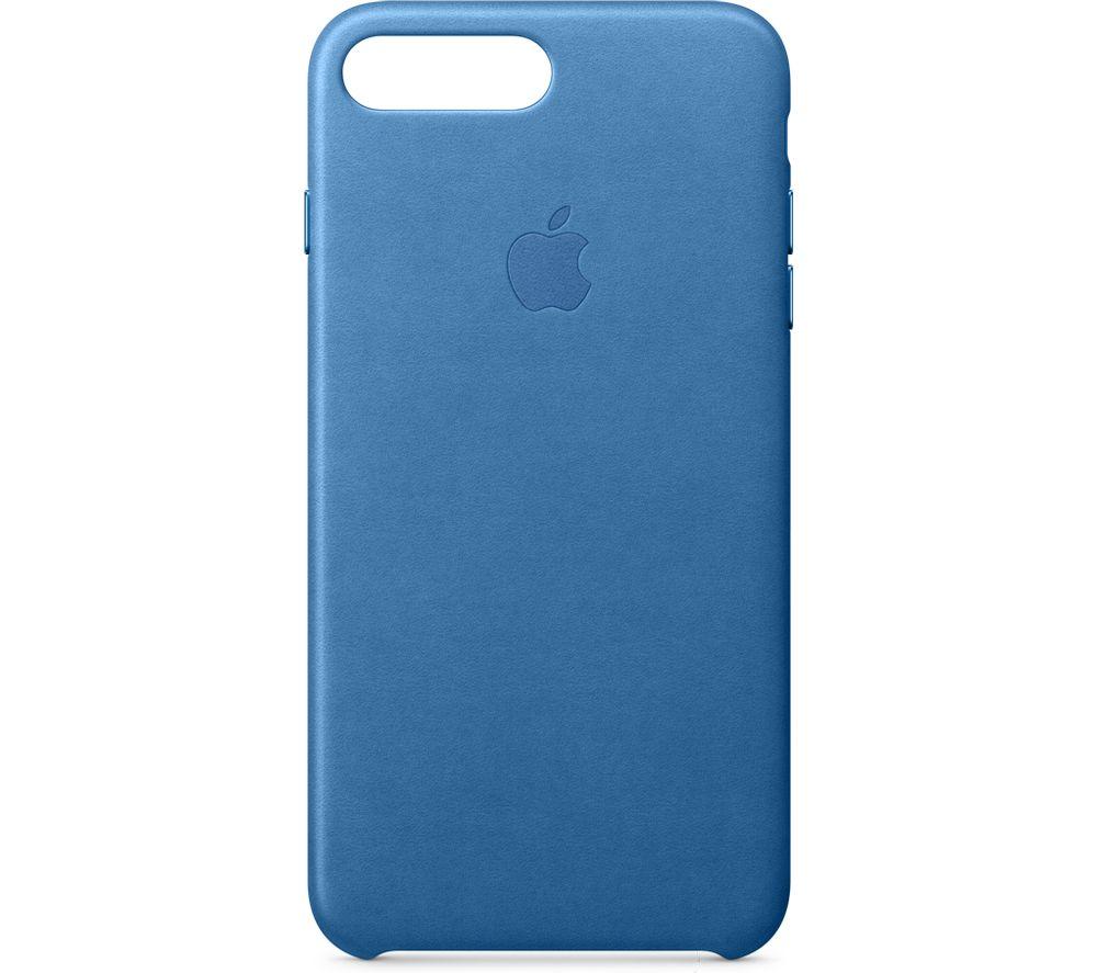 APPLE Leather iPhone 7 Plus Case - Sea Blue