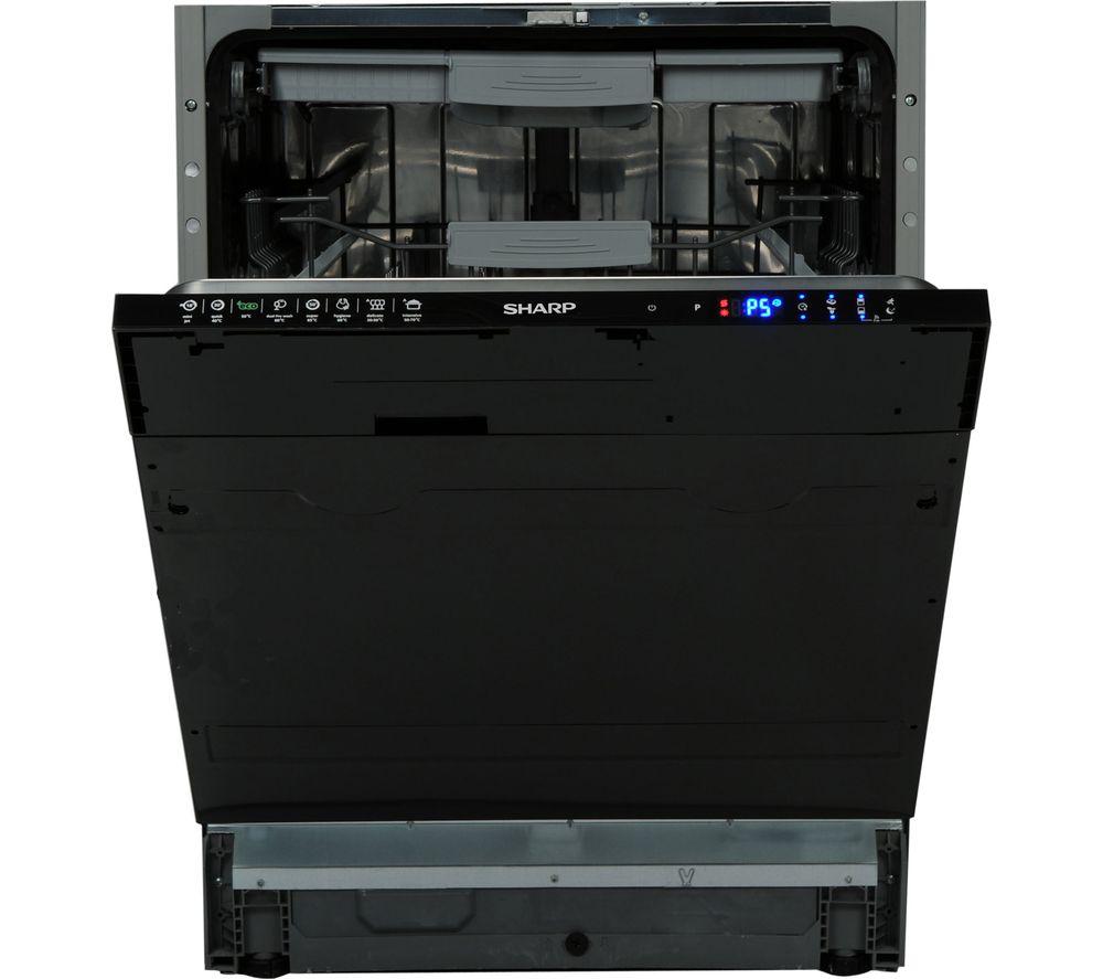 SHARP  QWGD53I443X Fullsize Integrated Dishwasher