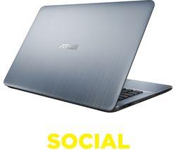"ASUS VivoBook Max X441 14"" Laptop - Silver"