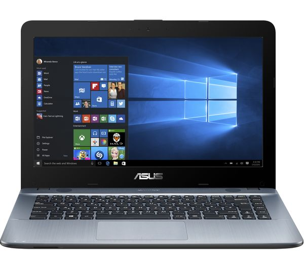 buy asus vivobook max x441 14 laptop silver free delivery currys. Black Bedroom Furniture Sets. Home Design Ideas
