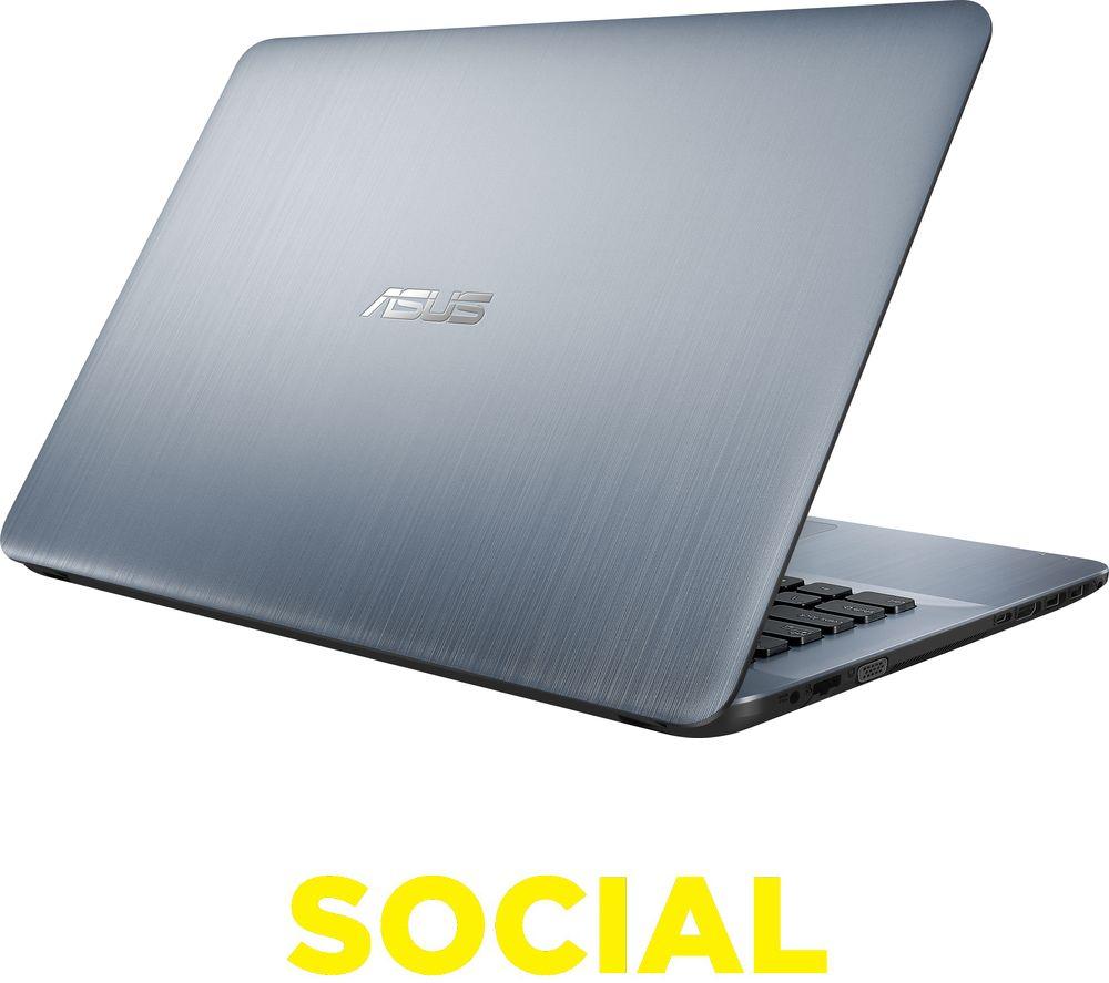 ASUS VivoBook Max X441 14 Laptop  Silver Silver