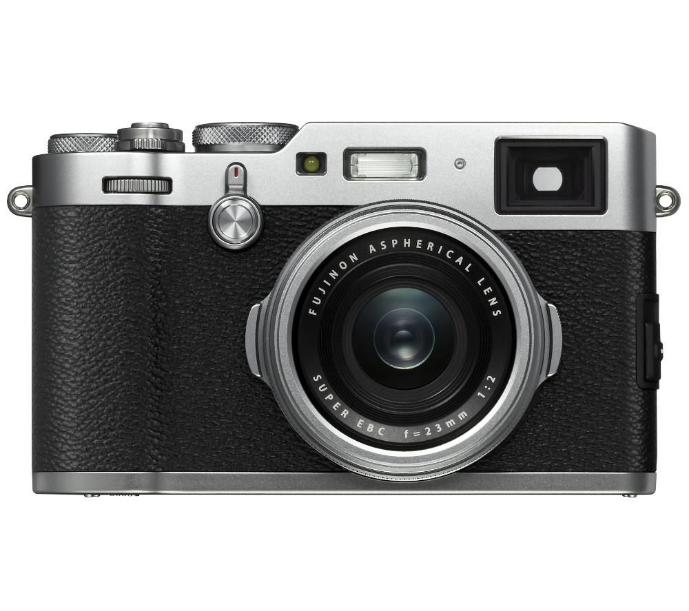 FUJIFILM X100F High Performance Compact Camera - Silver