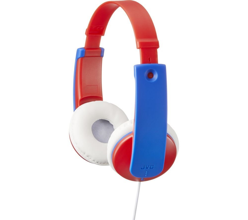 JVC Tinyphones Kids Headphones - Blue & Red