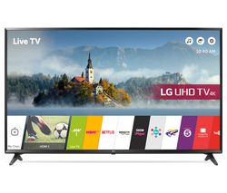 "LG 49UJ630V 49"" Smart 4K Ultra HD HDR LED TV"