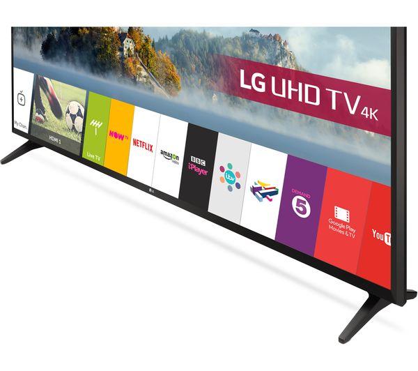 """Lg Uhd Tv 4k 49 Price In India 55 Zoll Full Hd Gebraucht Outdoor Hdtv Antenna 100 Mile Range Hdtv Cable Uses: Buy LG 49UJ630V 49"""" Smart 4K Ultra HD HDR LED TV"""