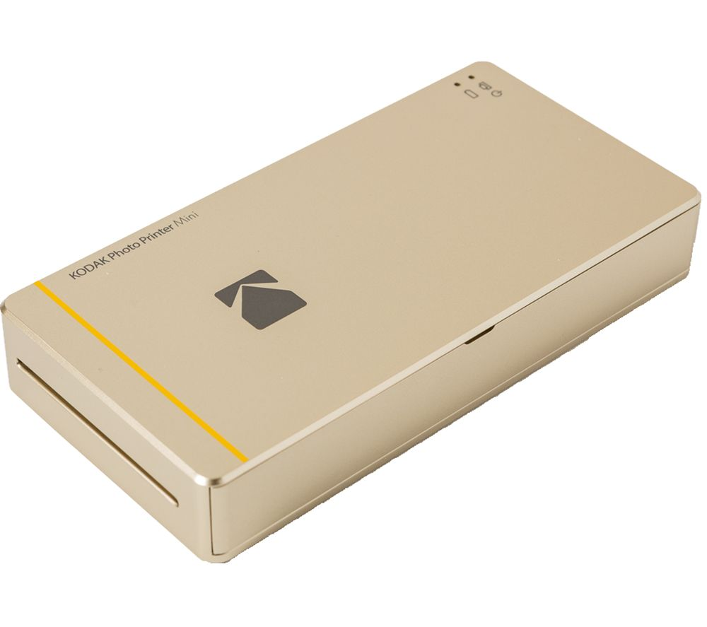 KODAK Mini Photo Printer  Gold Gold