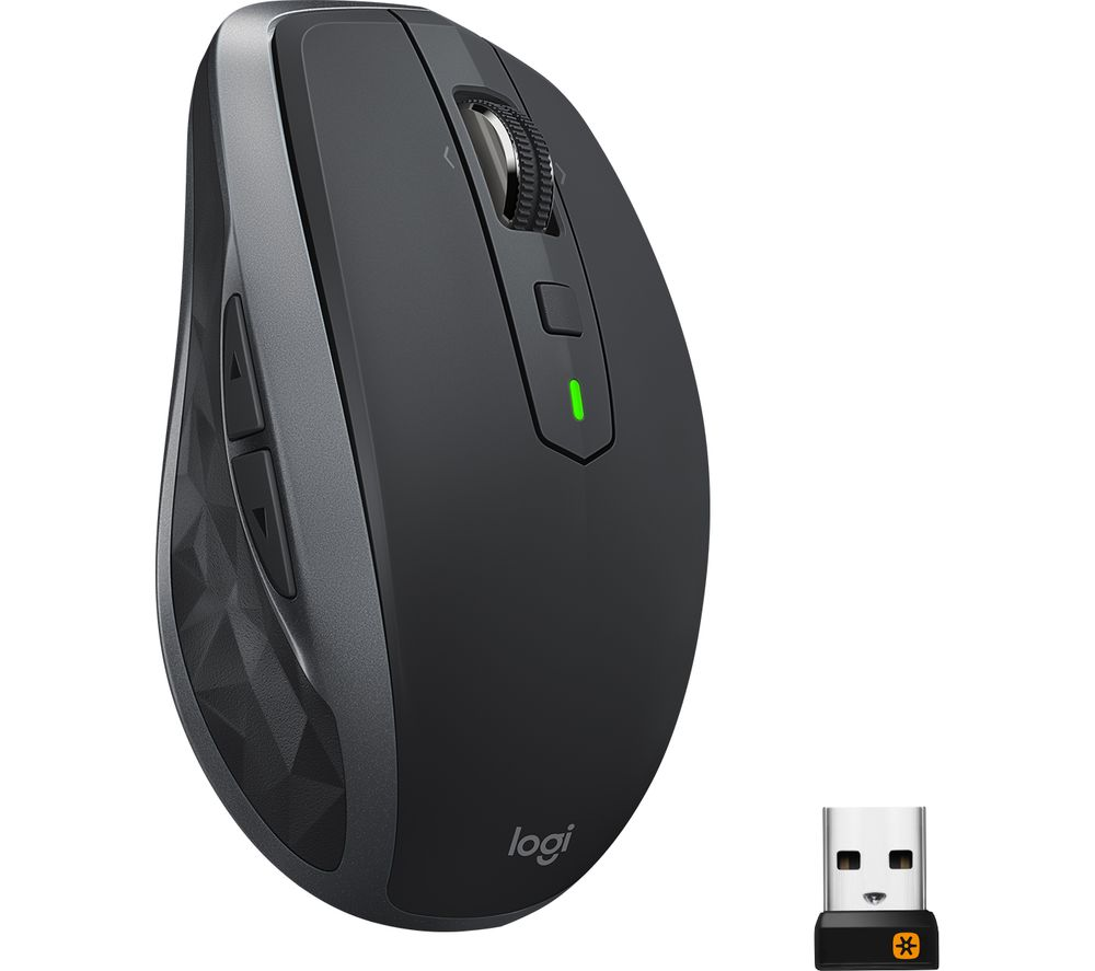 LOGITECH MX Anywhere 2S Wireless Darkfield Mouse - Graphite