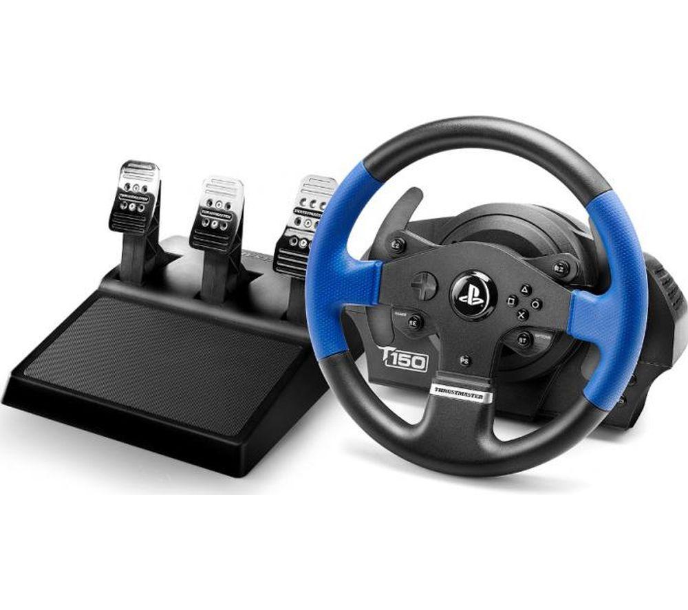 Buy Thrustmaster T150 R5 Pro Wheel Black Amp Blue Free