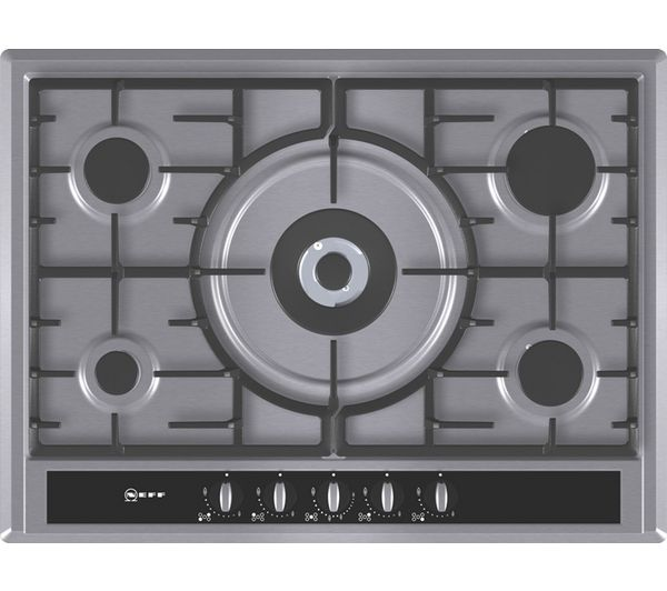 NEFF T26S56N0 Gas Hob - Stainless Steel