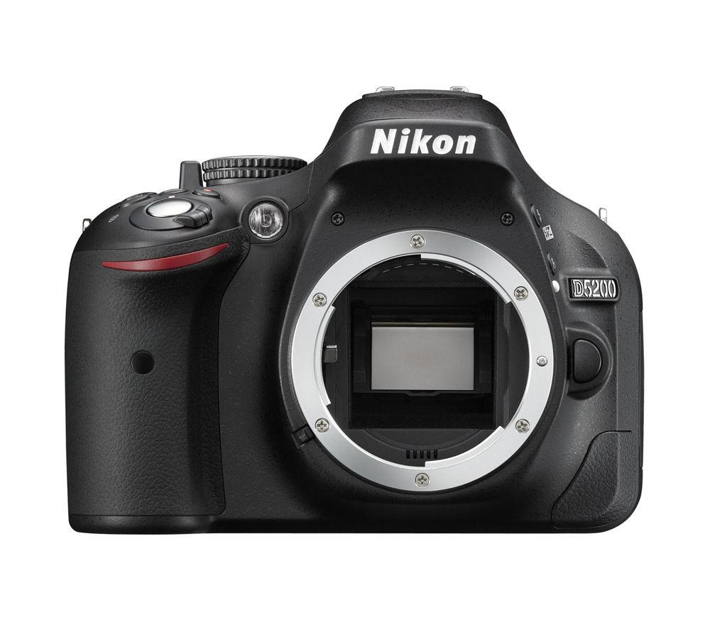 NIKON D5200 DSLR Camera - Body Only