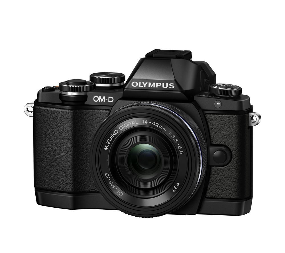 OLYMPUS OM-D E-M10 Compact System Camera with M.ZUIKO 14-42 mm f/3.5-5.6 EZ Lens