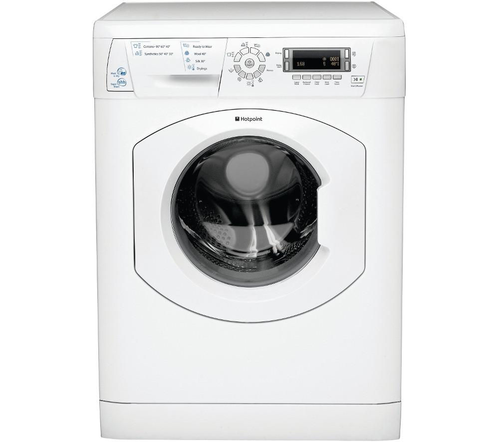 Hotpoint WDD756 Washer Dryer - White, White